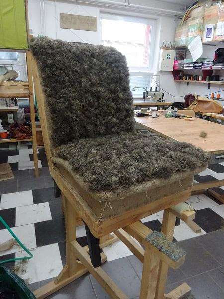 Ze života židle